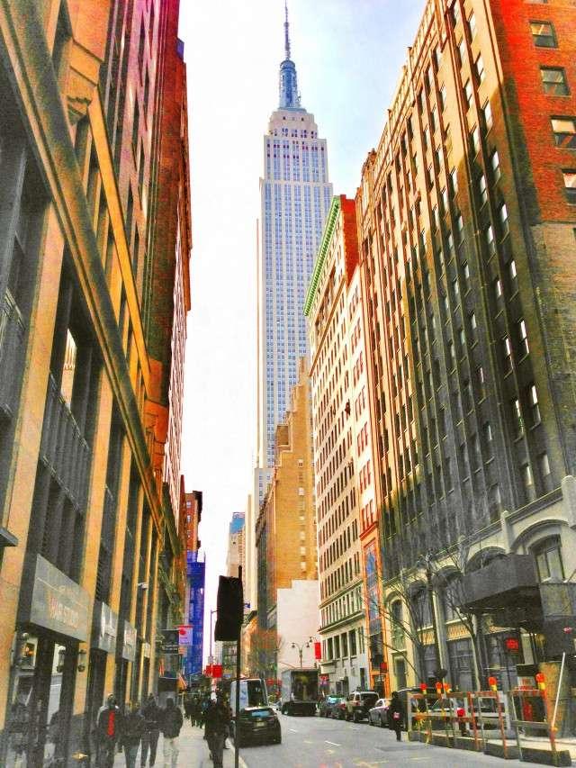 Empire State Building - das Original in New York