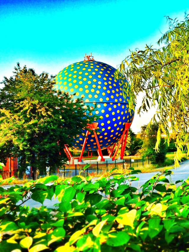 Der Ball von Designer Rolf Glasmeier