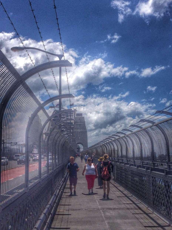 Fußgängerweg über Harbour Bridge