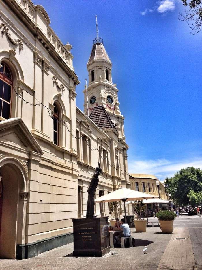 Viele alte Gebäude prägen das Stadtbild von Fremantle