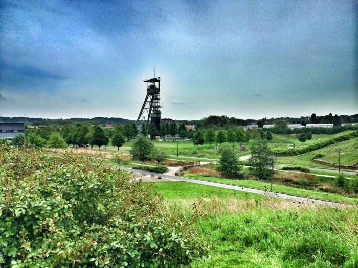 Der Erin-Park erinnert an die grüne Insel Irland