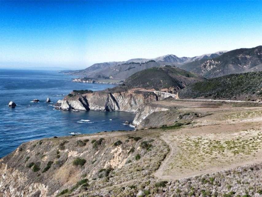 Der Highway 1 in Kalifornien - eine der Traumstraßen durch die USA