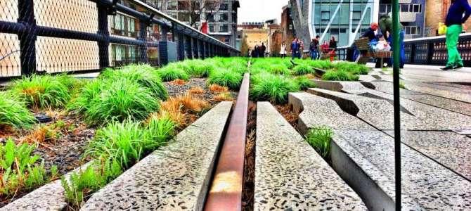 Kunst entlang der High Line
