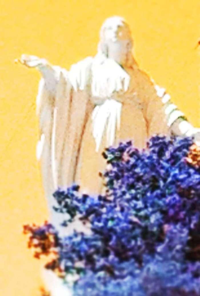 Marien-Statue in Santiago de Chile