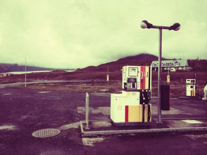Tankstelle im Naturschutzgebiet