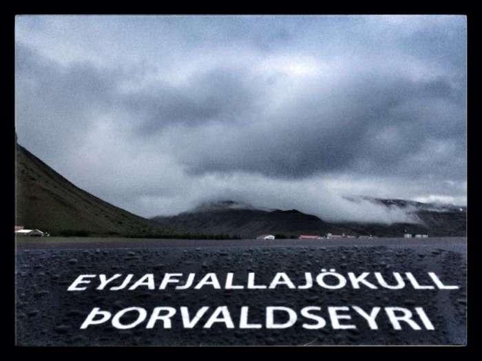 Gedenkstätte für den Vulkanausbruch