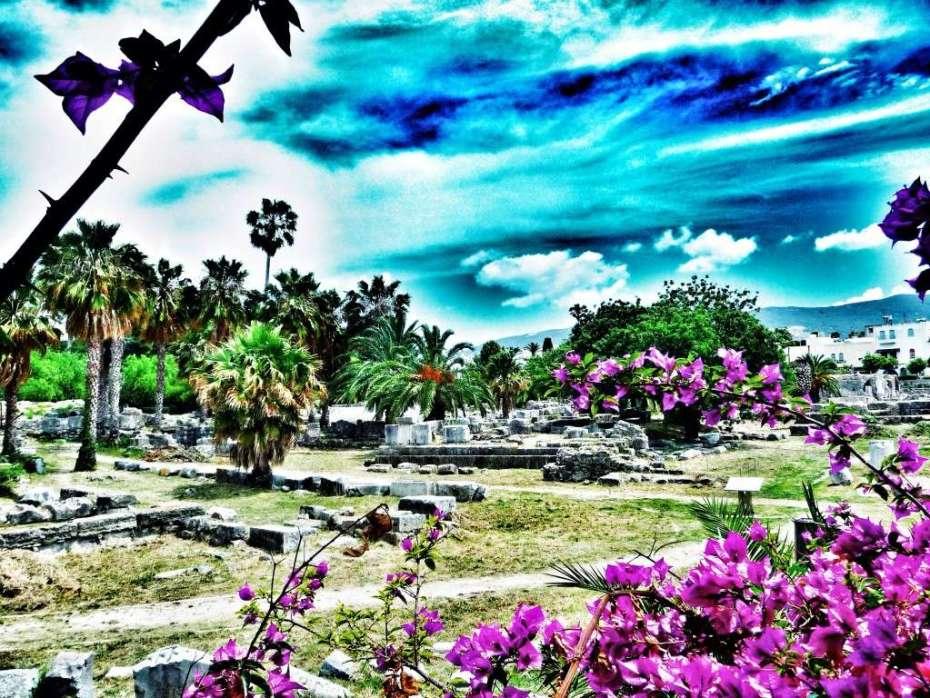 Ruinen in Kos-Stadt