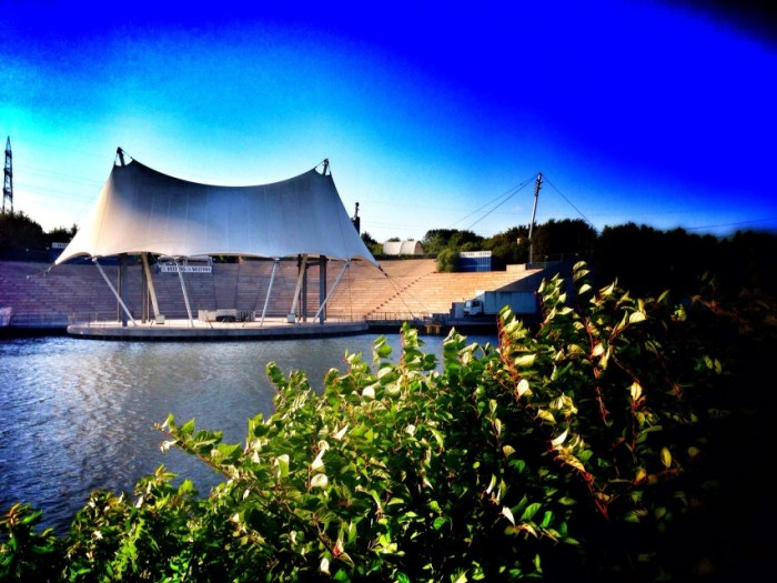 Amphitheater im Nordsternpark