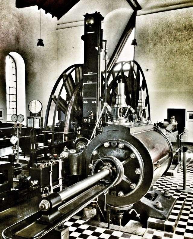 Dampfmaschine im LWL Museum
