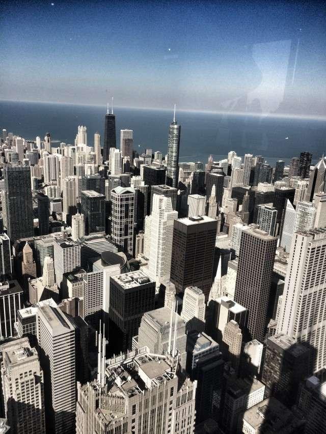 Blick vom Willis Tower