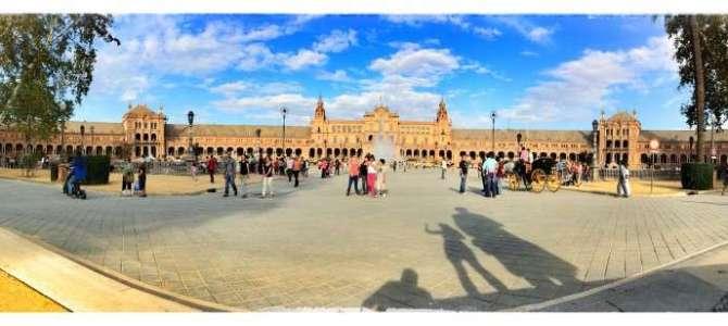 Star Wars am Plaza de Espana