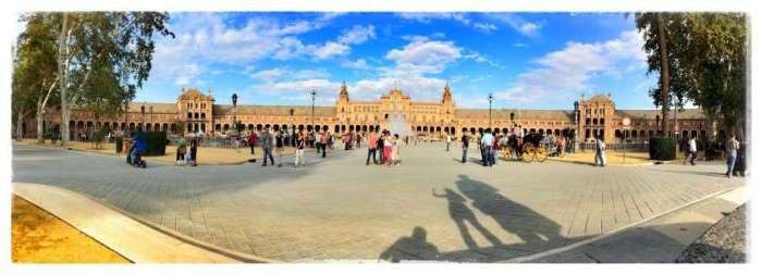 Weltausstellungsgelände in Sevilla
