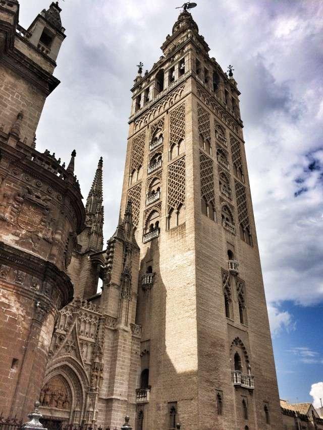Der Turm der Kathedrale in Sevilla