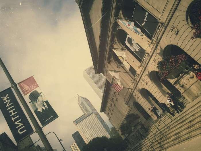 Das Kunstmuseum liegt direkt an der City