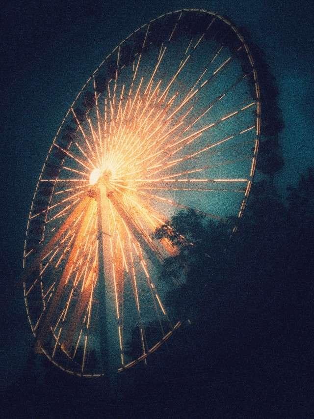 Das Riesenrad - das Wahrzeichen des Navy Pier