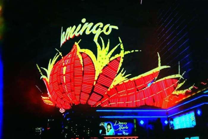 Das Flamingo - eins der ersten Hotels am Strip