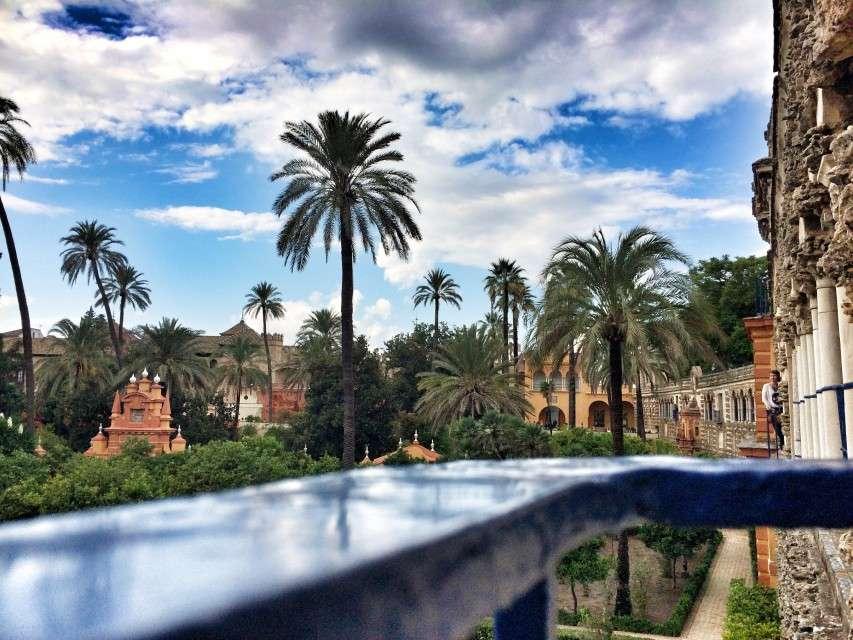 Die Gärten am Real Alcazar