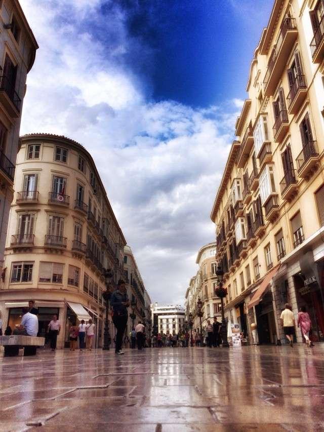 Fußgängerzone von Malaga