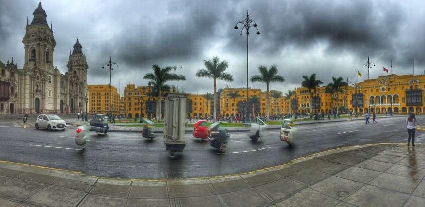 Panorama des Plaza de Armas/Plaza Mayor