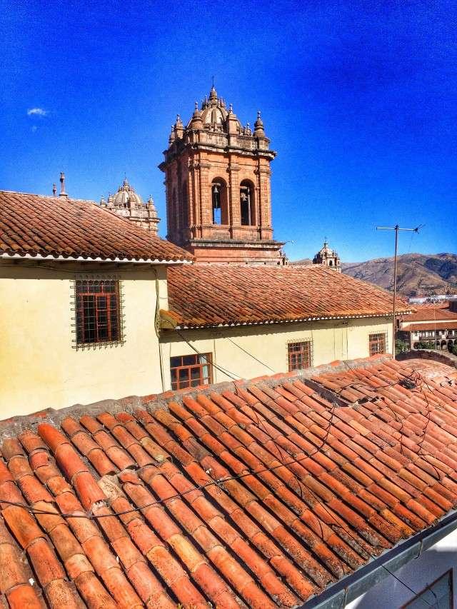 Die Kathedrale in Cusco