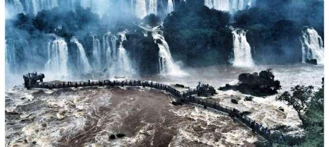 VIDEO: Wasserfälle Iguazu