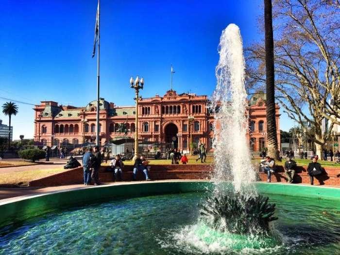Parlament am Plaza Mayo