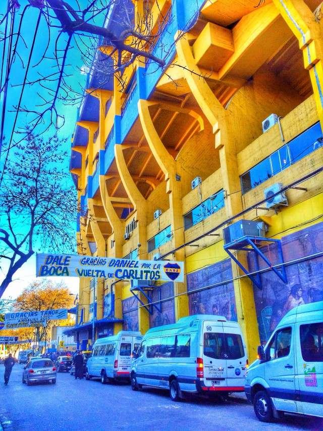 Das Stadion der Boca Juniors
