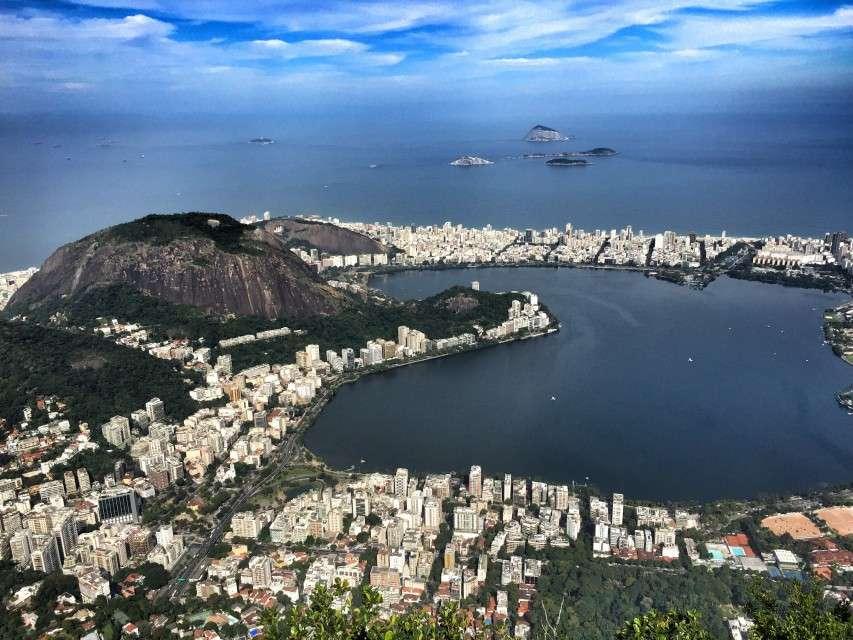 Lagoa Rodrigo de Freitas - hier absolvieren Kanuten und Ruderer ihre Wettbewerbe
