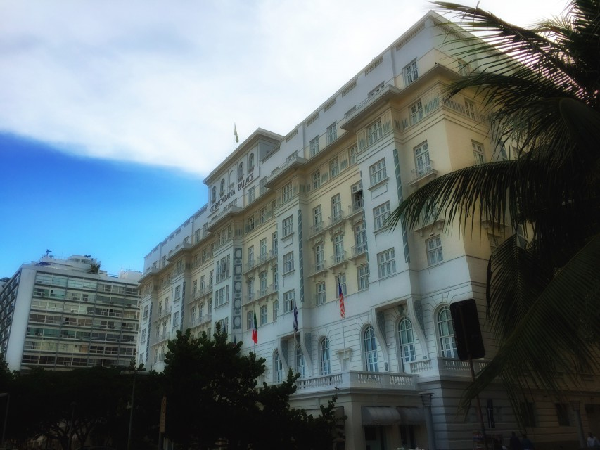 Das Luxushotel Copacabana Palace