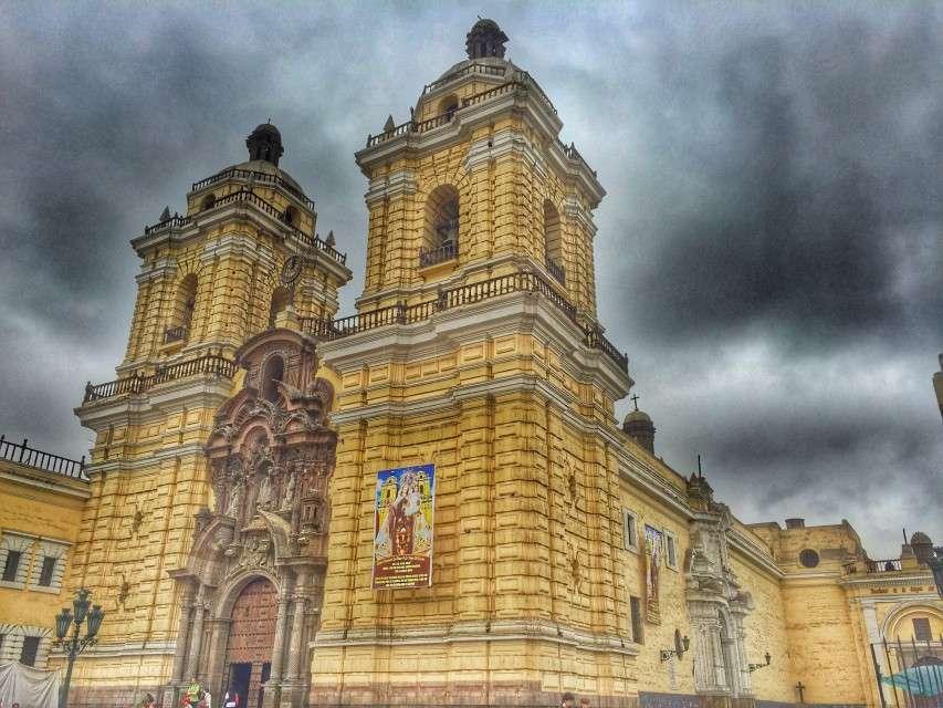 Das alte Franziskaner-Kloster in Lima
