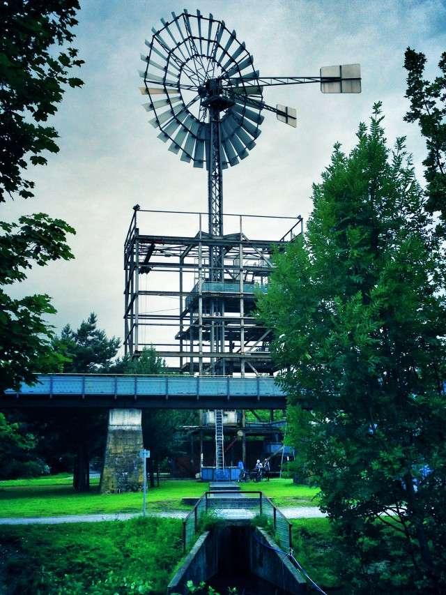 Landschaftspark Nord in Duisburg