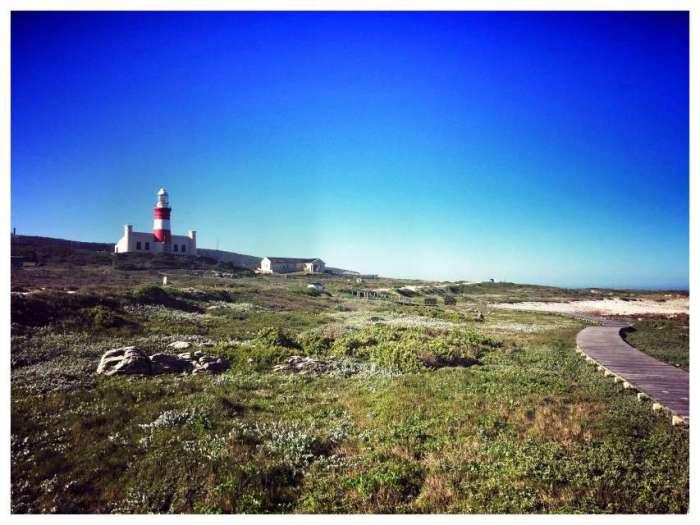 Der Leuchtturm am Kap Agulhas
