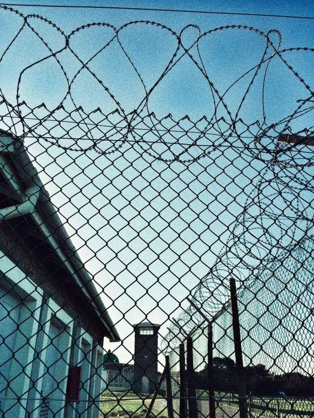 Das Gefängnis, in dem Nelson Mandela saß