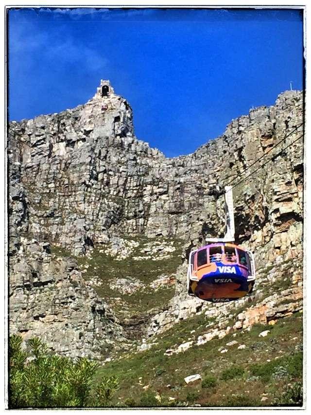 Bergbahn zum Tafelberg