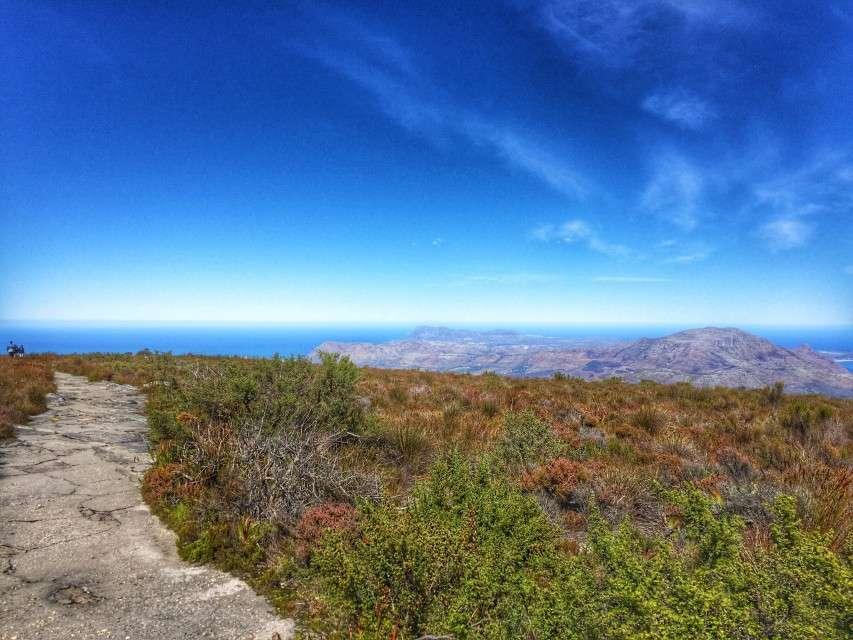 Wanderweg auf dem Tafelberg
