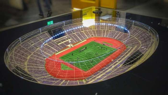 Das WM-Stadion von 1990 in Rom