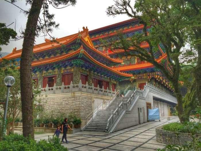 Der Tempel in Ngong Ping