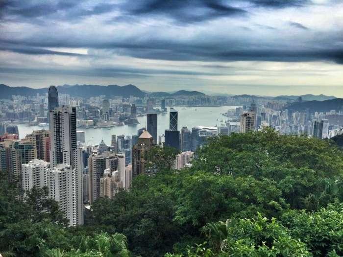 Vom Peak hat man einen wundervollen Blick auf die Stadt
