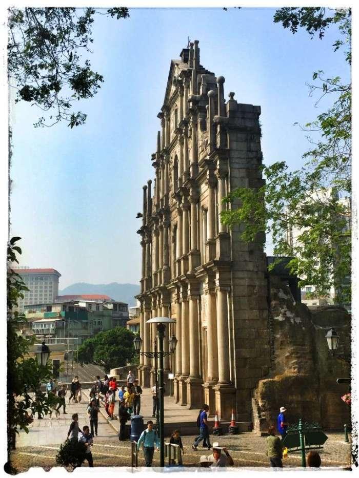 Die Fassade der Paulskirche