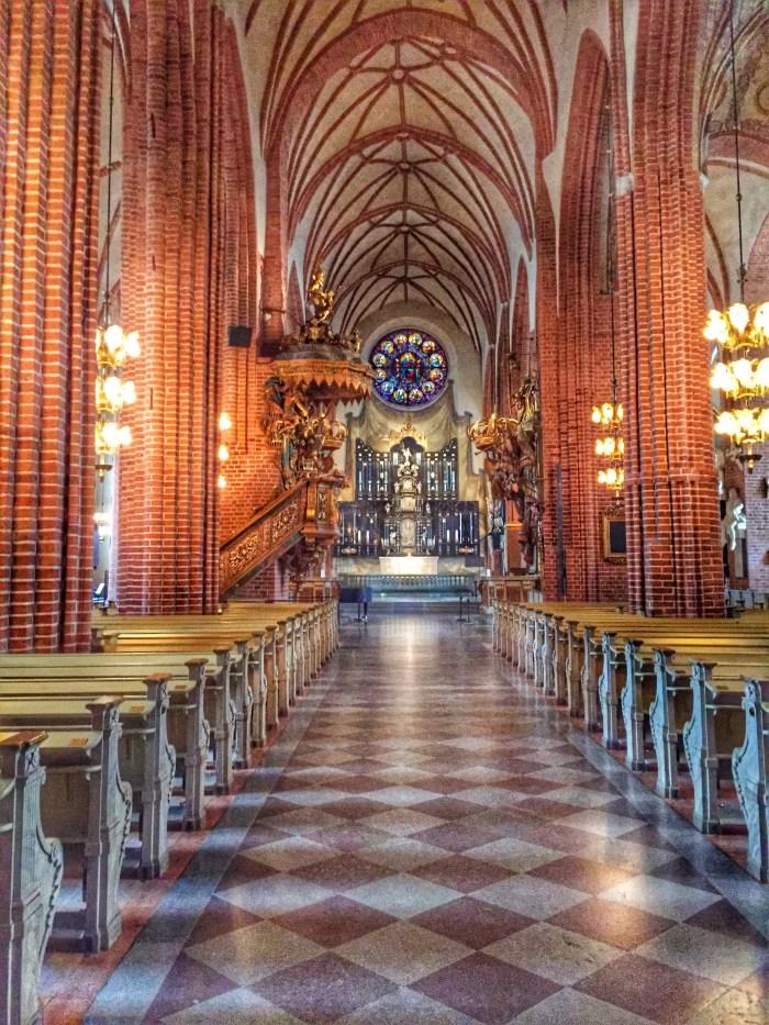 St. Nicolai - die Krönungskirche der schwedischen Könige