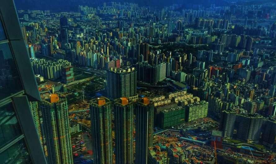 Sky 100 – Hongkong von oben
