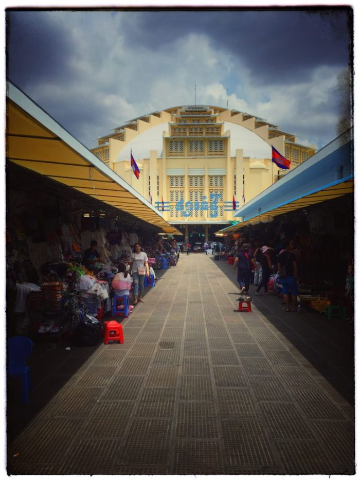 Markt in der Haupstadt Phnom Penh