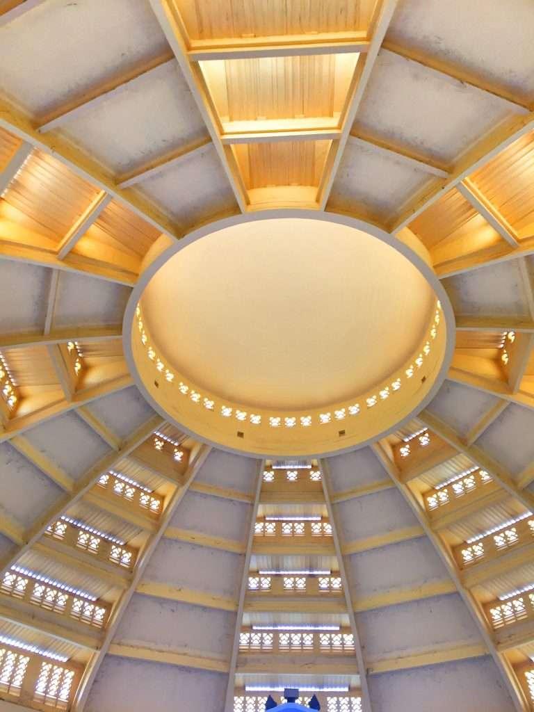 Die Kuppel des Zentralmarktes