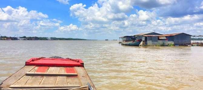 Das Mekongdelta in Vietnam