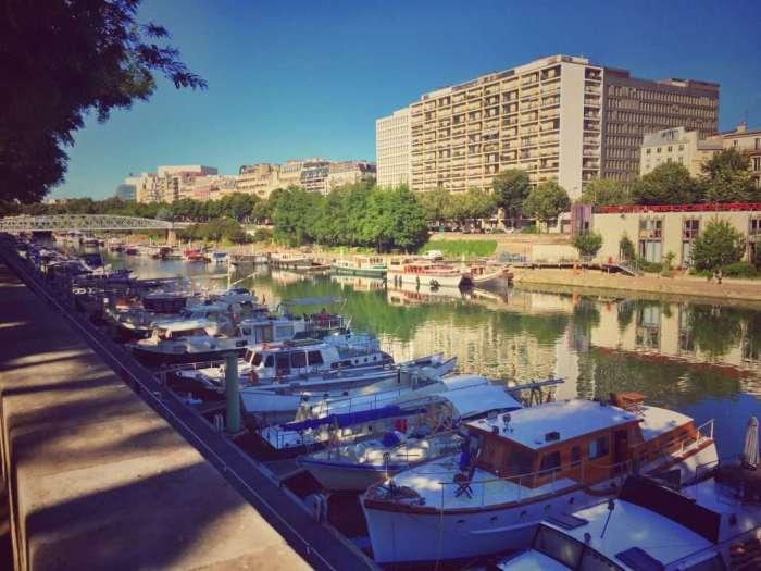 Der Hafen des Kanals heute