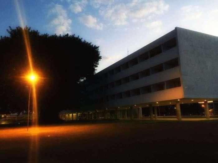 Brasilia Palace am Abend