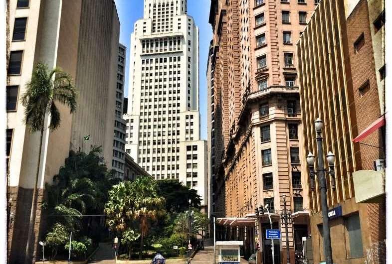 Das Empire State Building in Sao Paulo