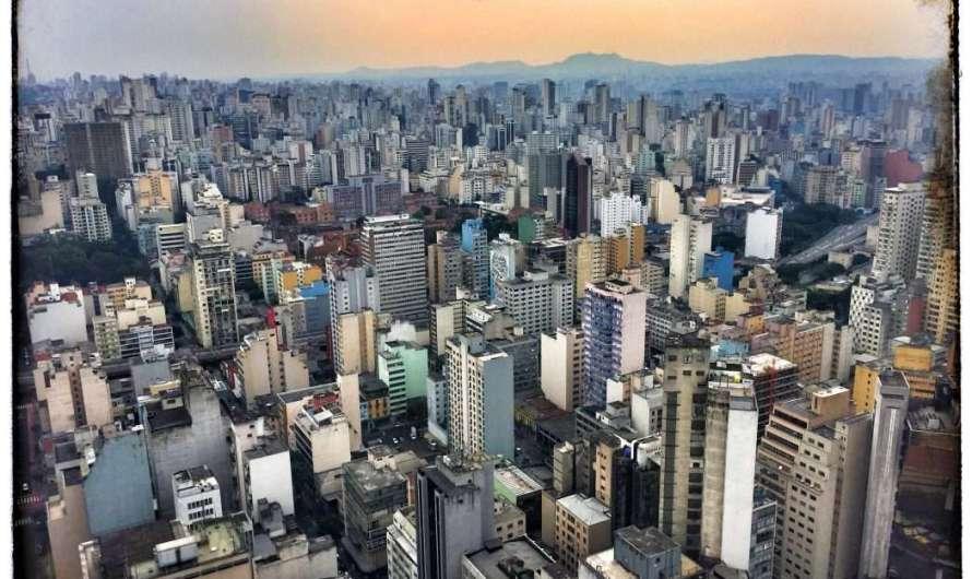 Sao Paulo von oben