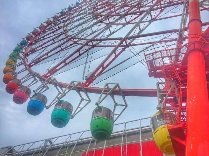 Das Riesenrad in Odaiba