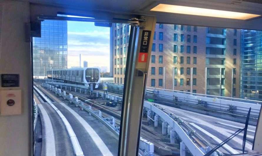 Mit der Hochbahn durch Tokio und Odaiba